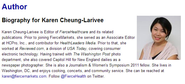 Karen Cheung Larivee bio Care Transitions