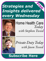 Sign up for newsletters from Leading Home Care