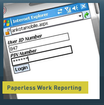 HDM Paperless Work Reporting