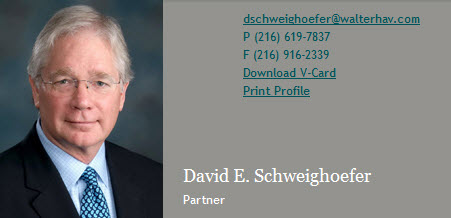 David Schweighoefer contact info