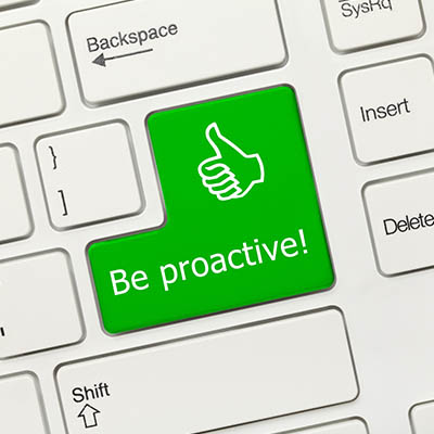 Why Proactivity is Always a Better Strategy than Reactivity