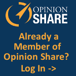 Log in to Opinion Share