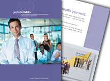 Profitable Habits brochure