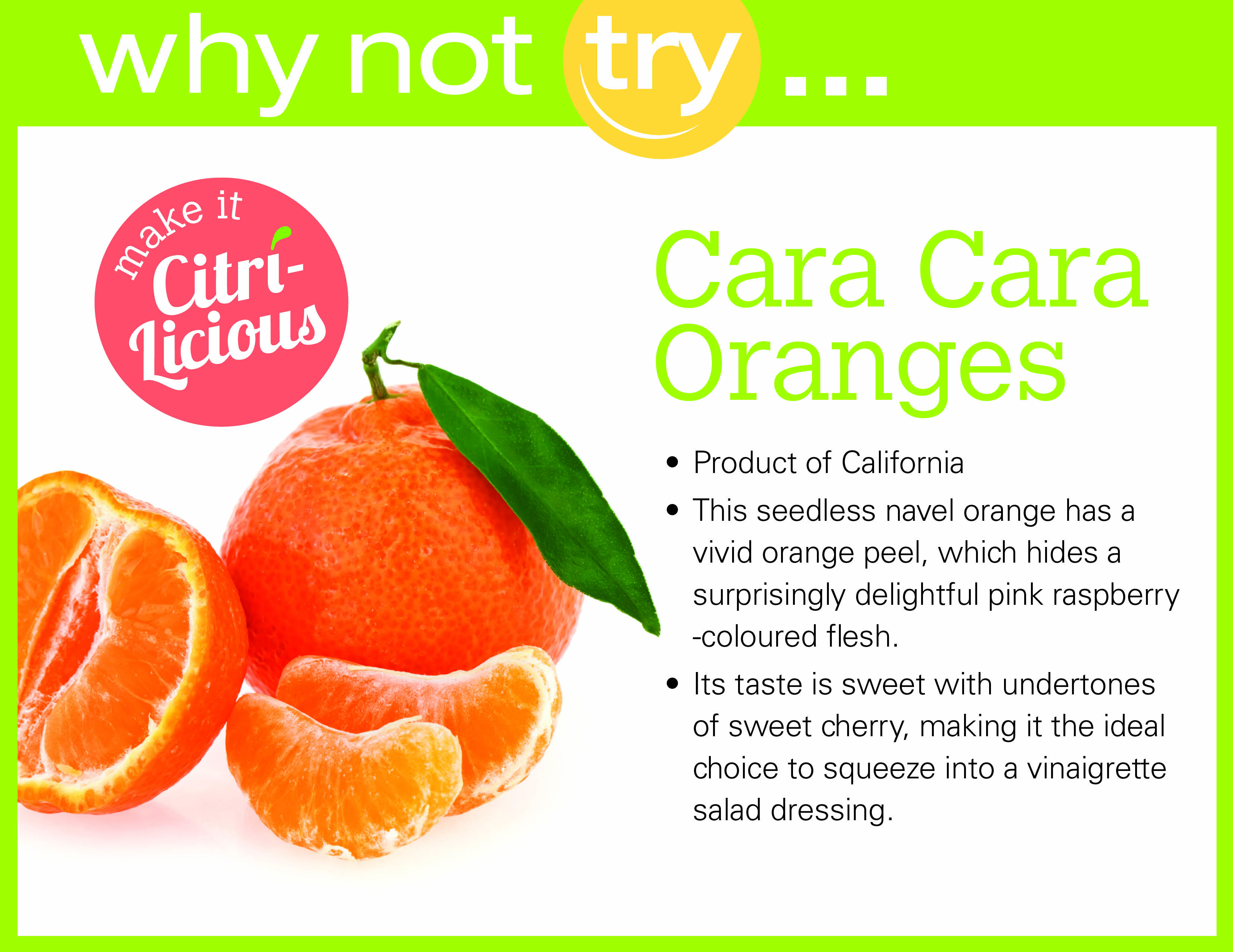 Why Not Try...Cara Cara Oranges