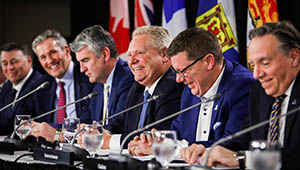 Premier Doug Ford Calls for Unity and Collaboration with the Federal Government at Premiers' Meeting