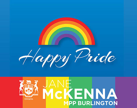 Happy Pride to our LGBTQ2+ Community