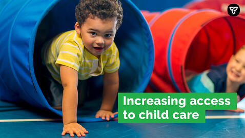 346 Child Care Spaces Created in Burlington