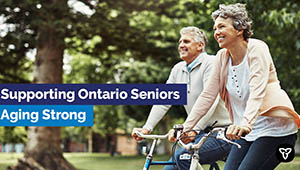 Ontario Investing in Seniors Health and Well-Being