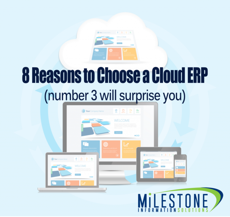 8 Reasons Why cloud erp is the right Solution