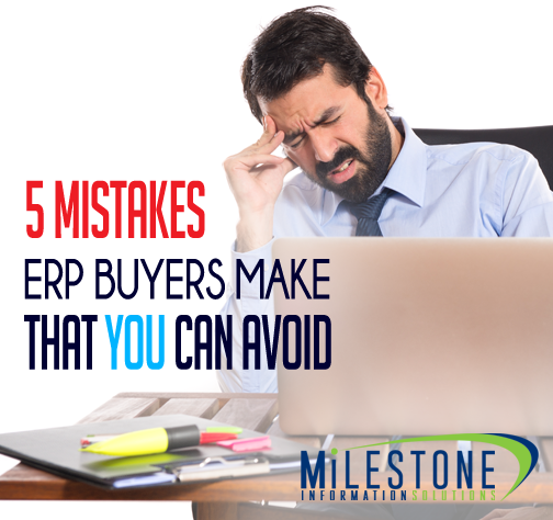 ERP Implementation Failure - 5 Mistakes Buyers Make