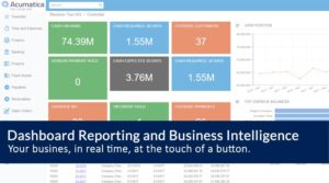 Acumatica Dashboards Reporting and Business Intelligence