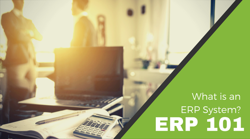 ERP 101 : What is an ERP system?