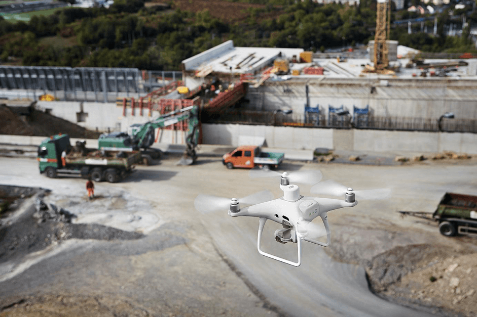 DJI P4 RTK for AEC and surveying