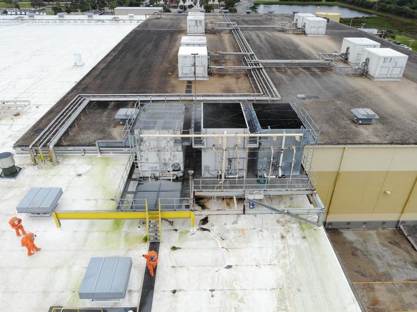 SMFR ammonia leak response with drones
