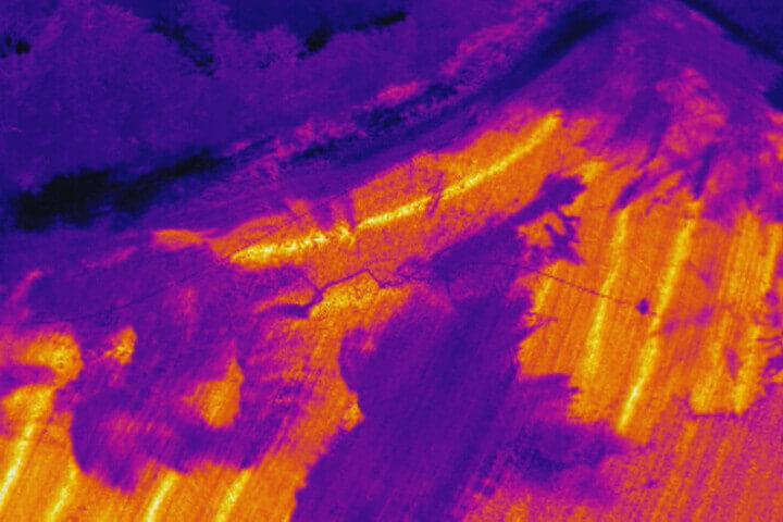 DJI Zenmuse XT thermal image
