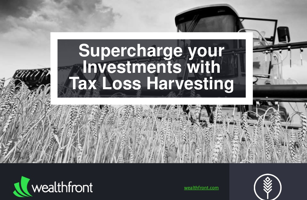 Wealthfronts_Slideshow_Promoting_New_Tax_Loss_Service