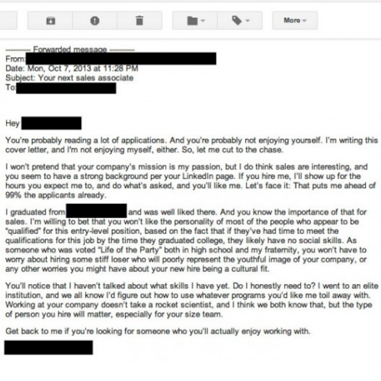 5 Ingredients Of A Compelling Cover Letter
