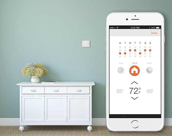smart home automation alarm-com app