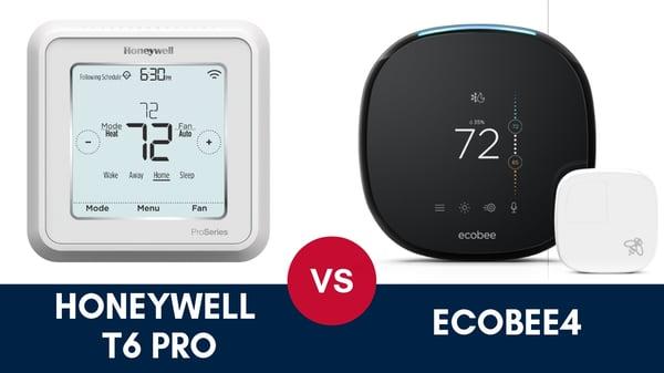 Honeywell T6 Pro vs Ecobee4