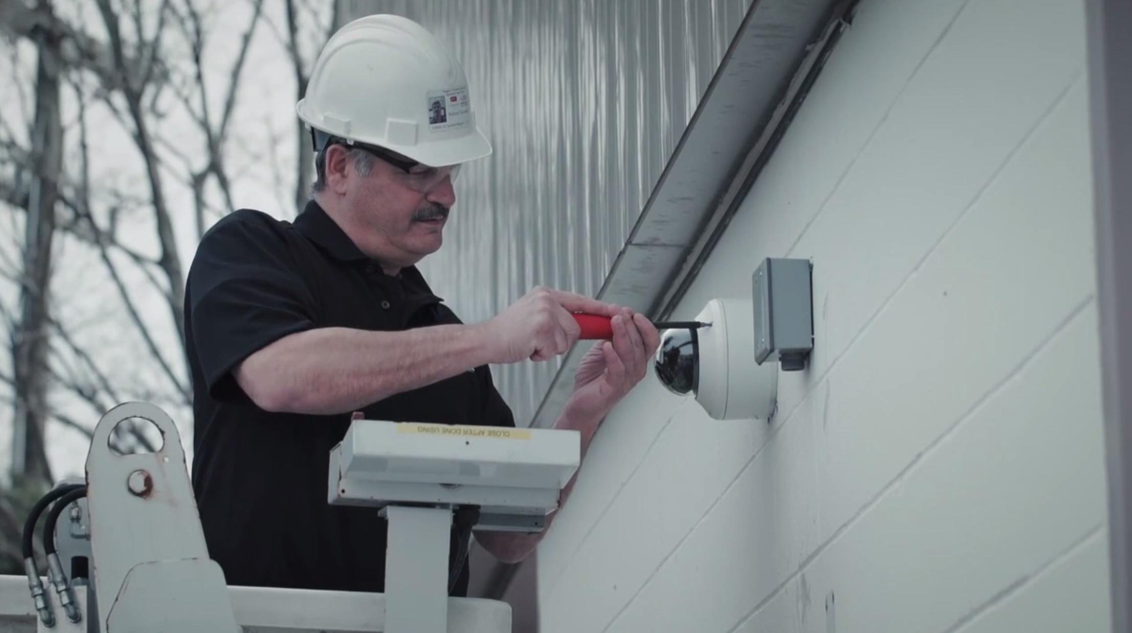 alarm-new-england-business-outdoor-camera-installation