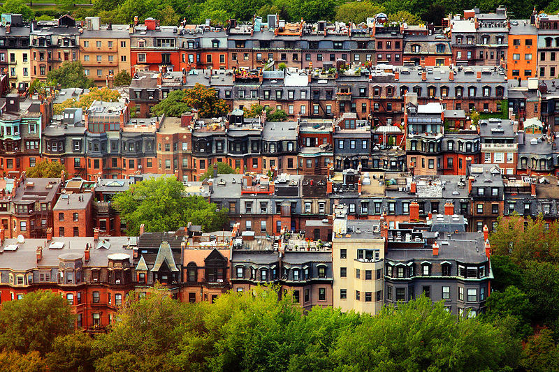 Apartments in Boston's Back Bay area have apartment security systems that provide home security to their tenants