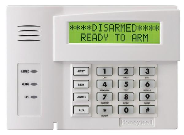 honeywell-6164us-alphanumeric-alarm-keypad-with-four-integrated-hardwired-zones