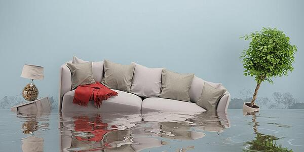 house-flood from burst pipe