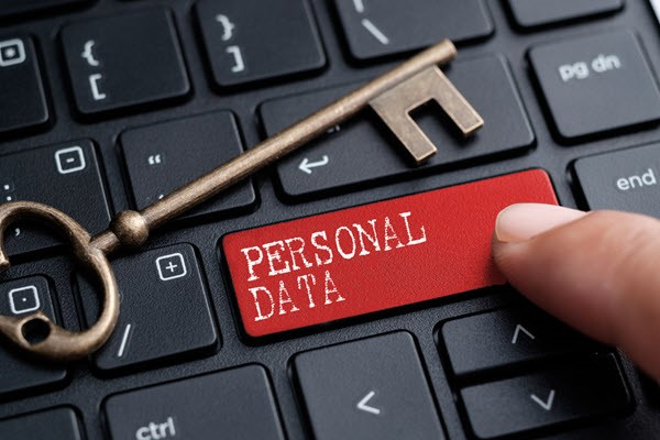 What are the risks associated with collecting personal data?