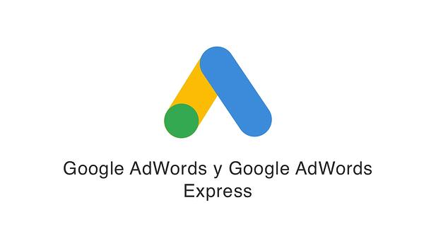 Google AdWords y Google AdWords Express