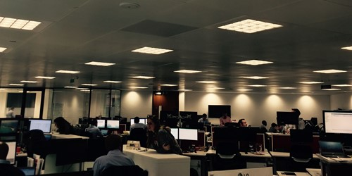 RedstoneConnect showcase Philips Lighting Solution in London HQ