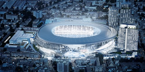 Tottenham Hotspur chooses Redstone to install passive cabling for new stadium
