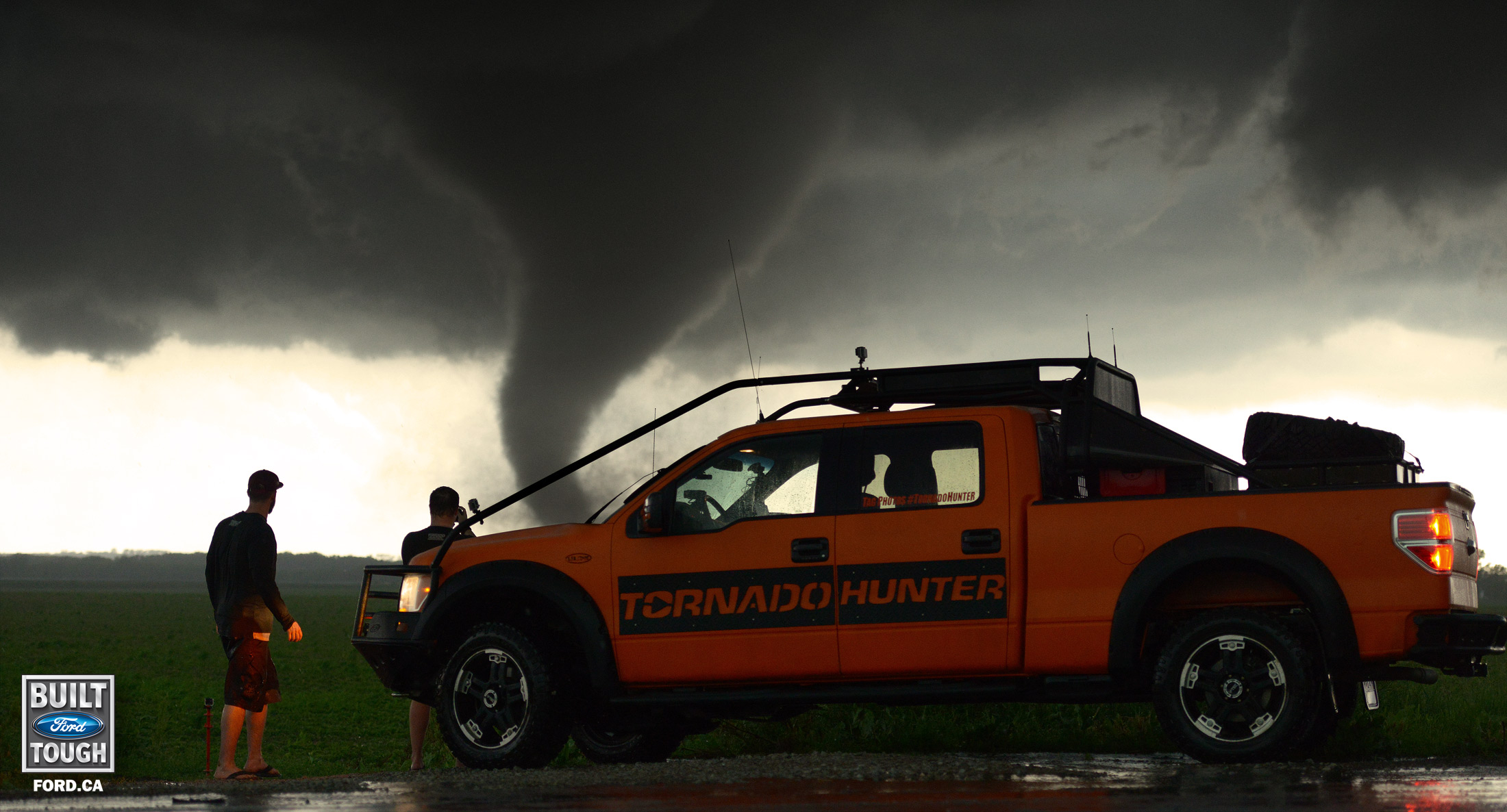 tornado hunters at profusion expo