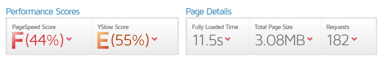 page speed_nabisshop