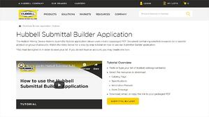 Updated Online Submittal Builder