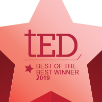Hubbell Wiring Device-Kellems Wins 2 tED Best of the Best Awards