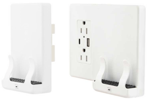 Qi-Certified Wireless Wall-Mount Phone Chargers