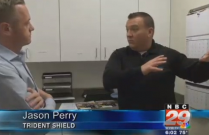 Trident Shield on WVIR NBC 29- Charlottesville
