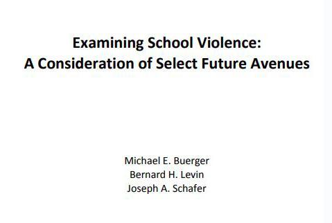 White Paper: 2018 Future of School Violence