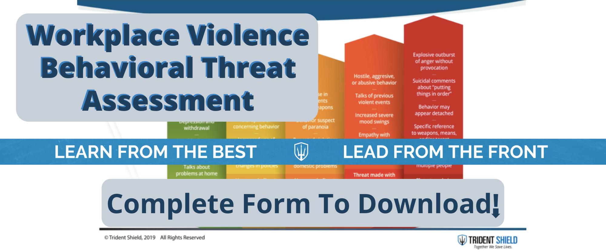 behavioral patterns of concern chart
