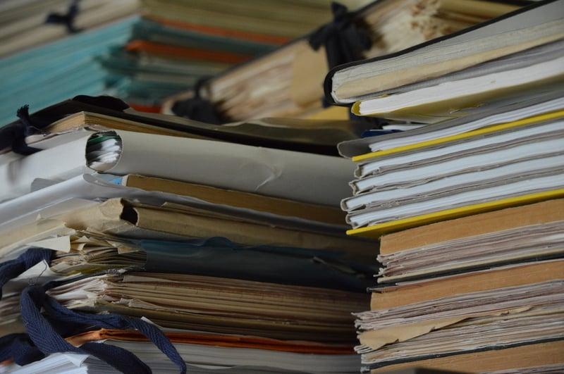 Dificultad acceso documentos empresa