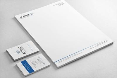 Audio Consultants - New Brand Identity