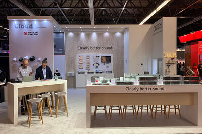 Stand Graphics for Cloud at ISE 2020