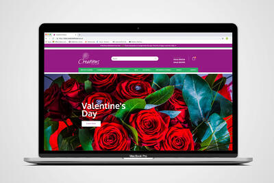 Creations Flowers launch Valentine's Day range