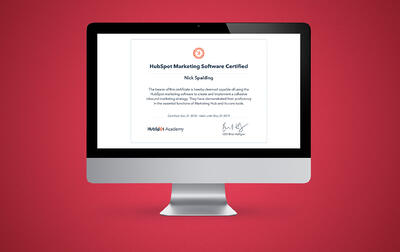 Hubspot Marketing Software - Certified