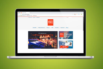 ISCE launch new training and membership website