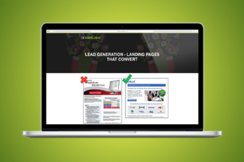 Landing Pages - Less is More...