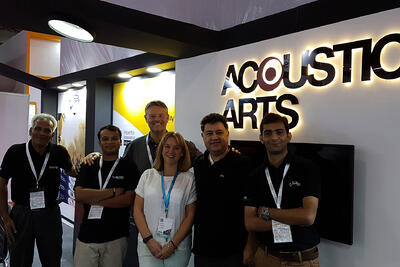 Cloud exhibits at Infocomm India 16 with Acoustic Arts
