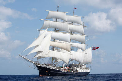 Cloud Supports Jubilee Sailing Trust - Tenacious