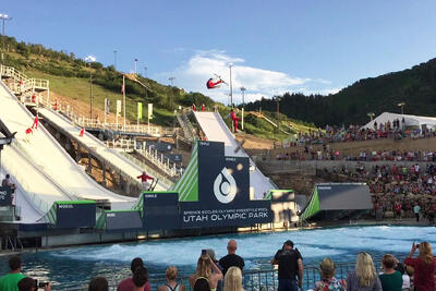 Olympic Park Utah Re-Opens for Summer with Cloud