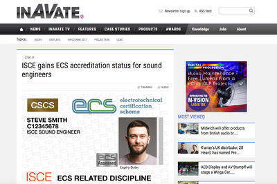 ISCE in the News